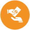 Tax-paid-and-collection-is-formulated-icon